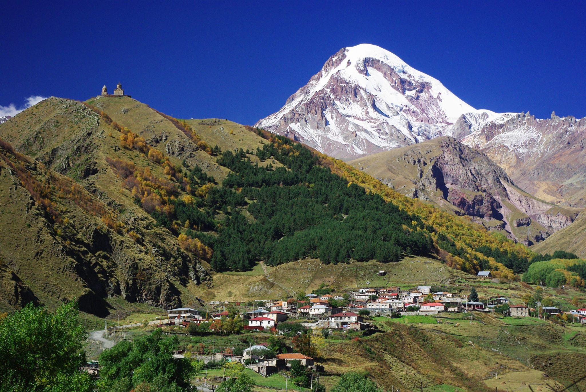 Фото: гора Казбек