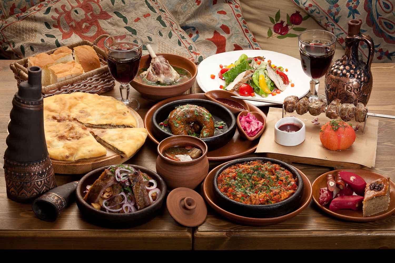 Блюда национальной грузинской кухни