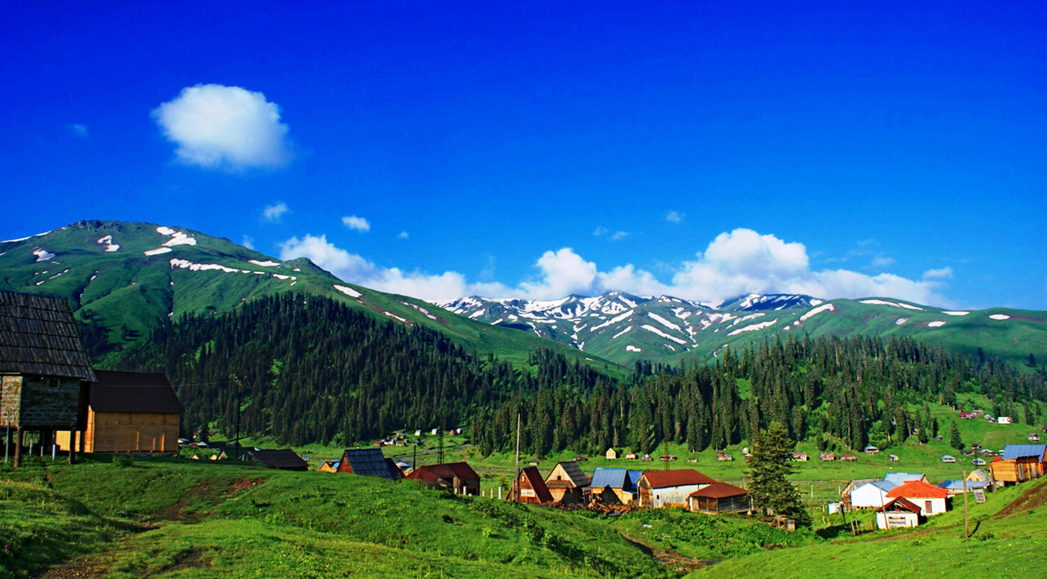Фото: деревня в Гурии