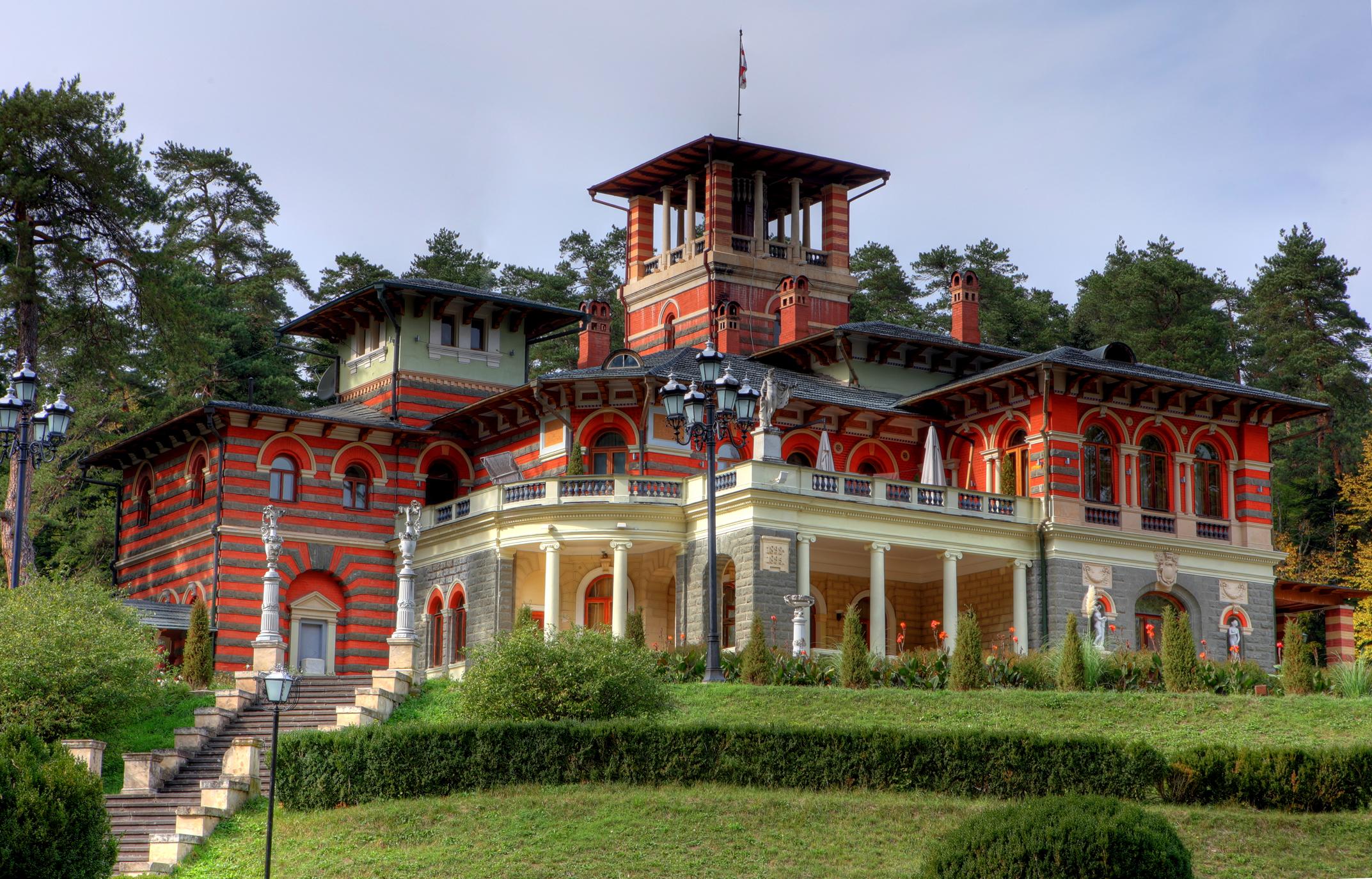 Фото: дворец в Ликани