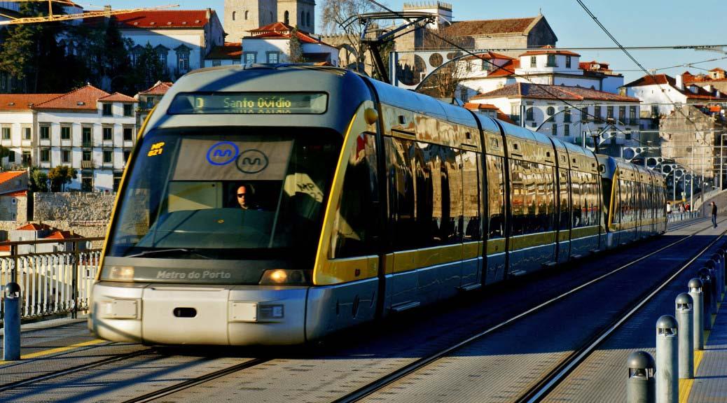 Фото: метро в городе Порту