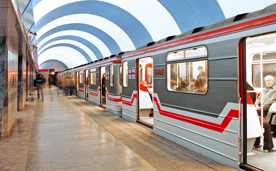 Станция метро в столице Грузии