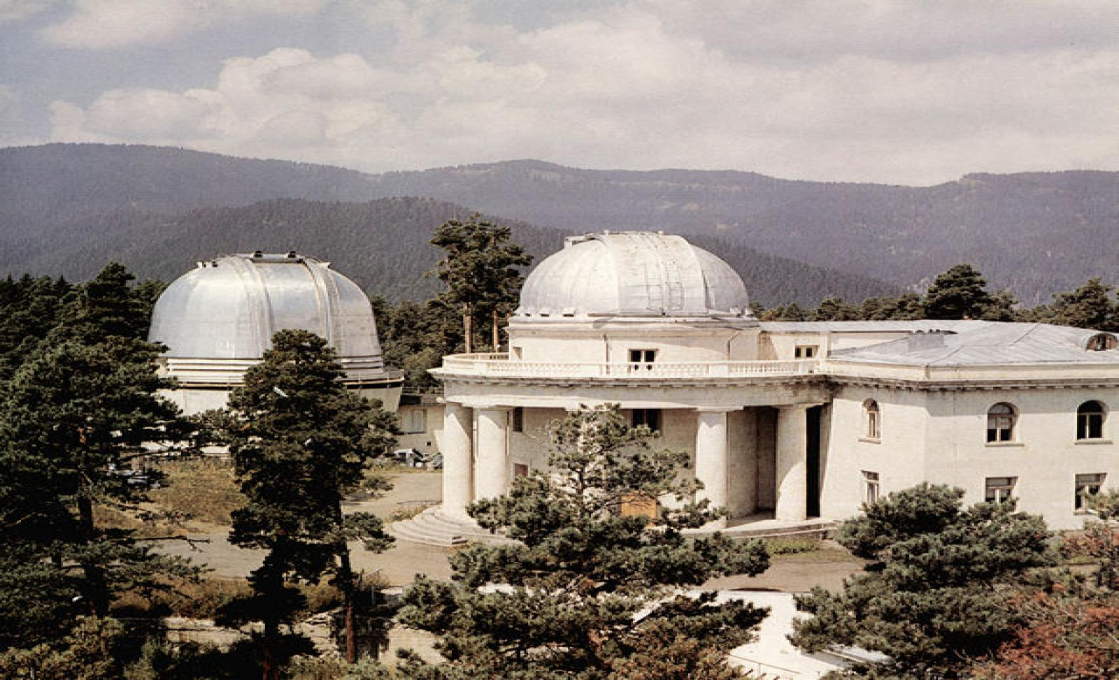 Обсерватория, построенная во времена СССР
