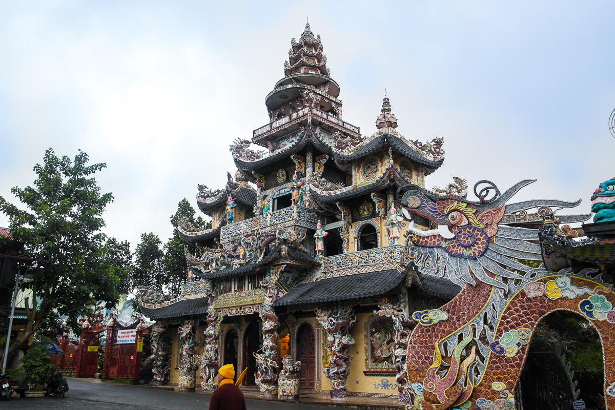приготовить пагода линь фуок вьетнам ранее