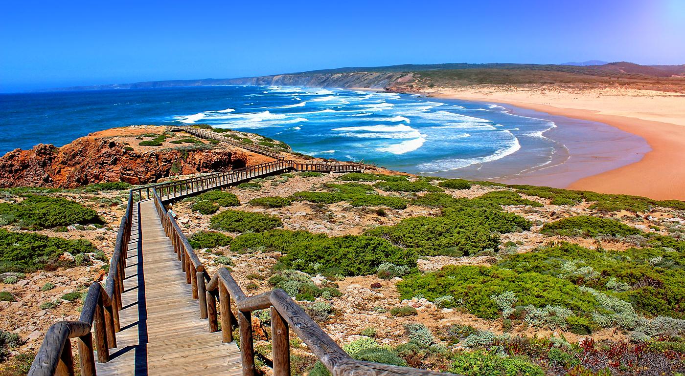Фото: пляж региона Алгарве