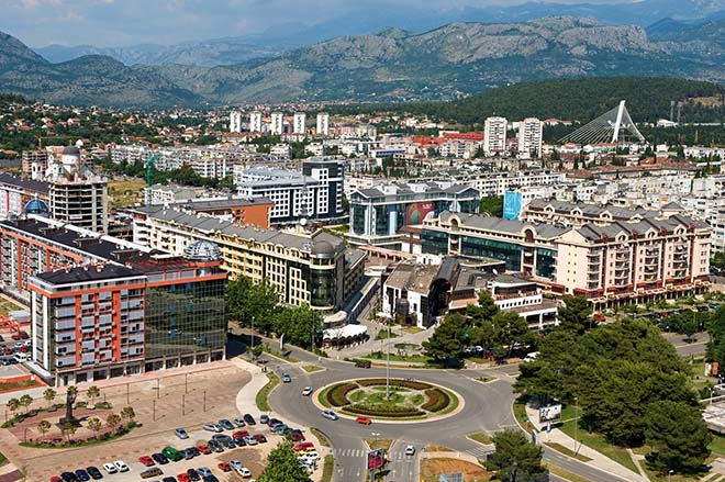 Фото: вид сверху на город