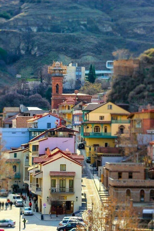 Улицы старого города Тбилиси