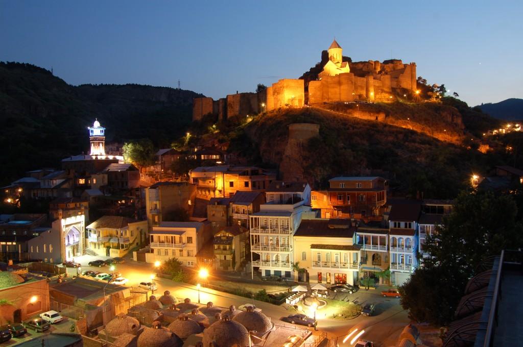 Фото: Старый Тбилиси с высоты