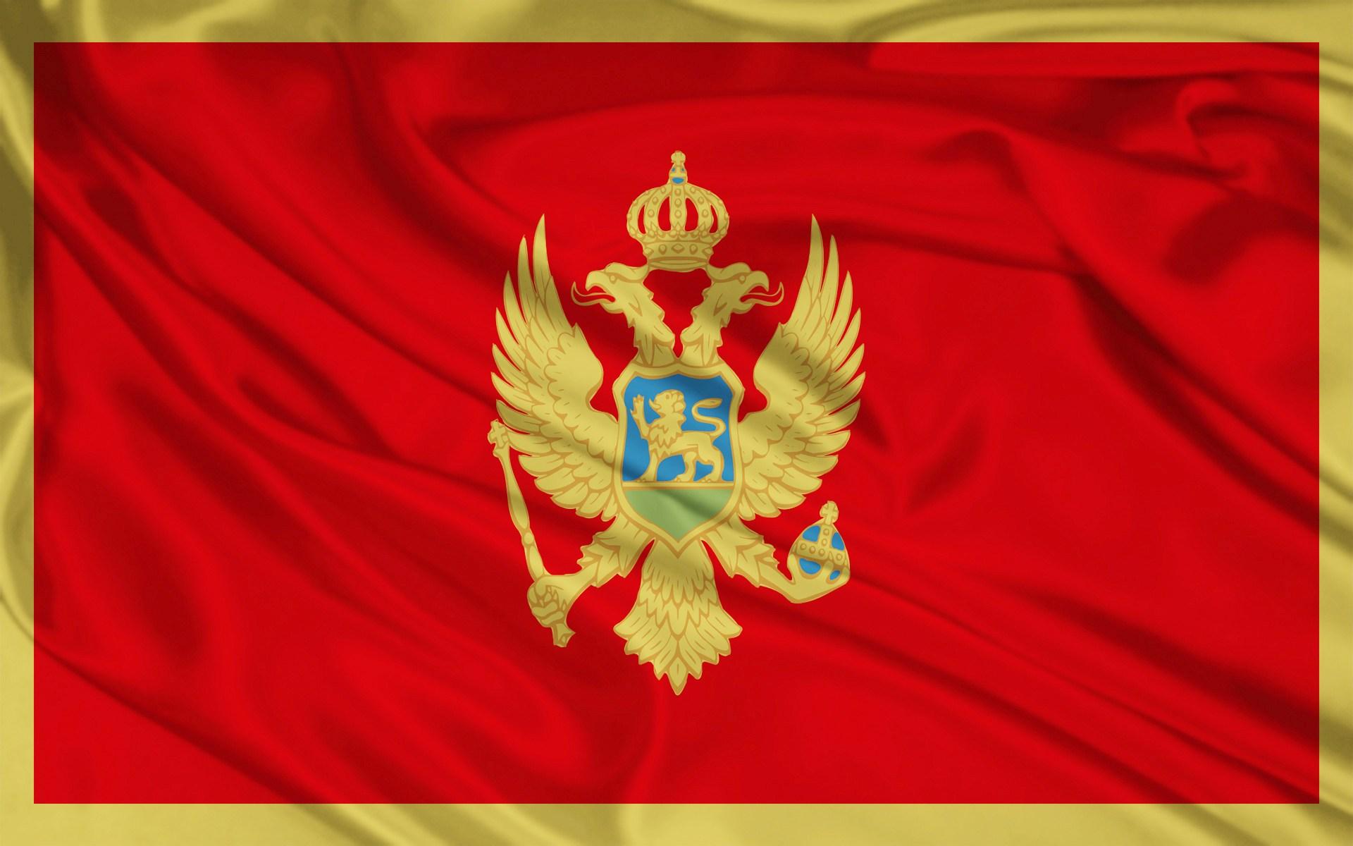 Фото: черногорский флаг