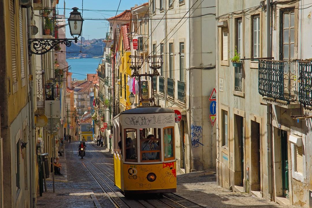 Фото улицы Лиссабона
