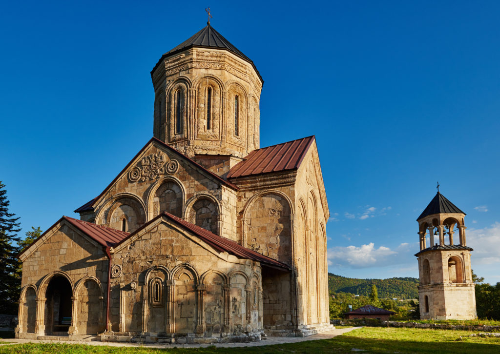 Грузинский храм Никорцминда