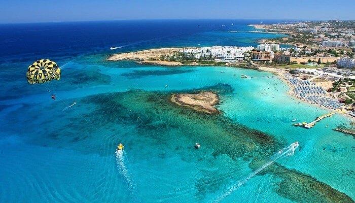 Фига Бич, Кипр