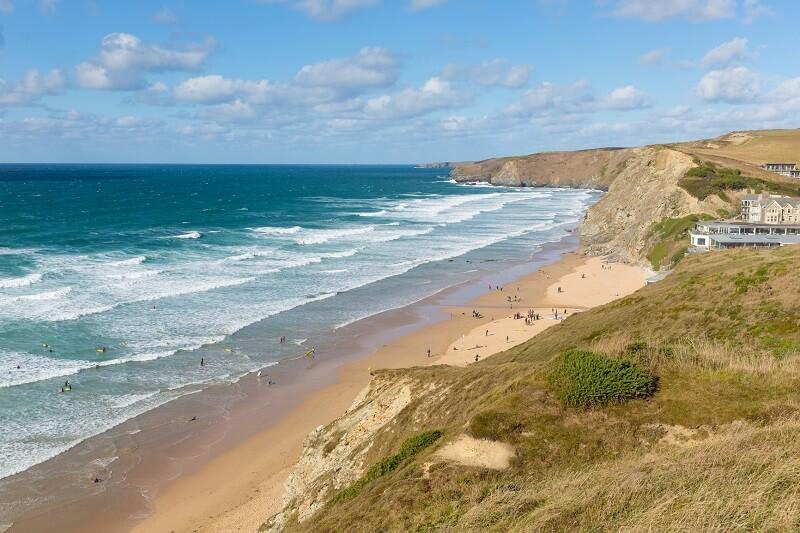 Пляж Фистрал, лучший пляж Великобритании