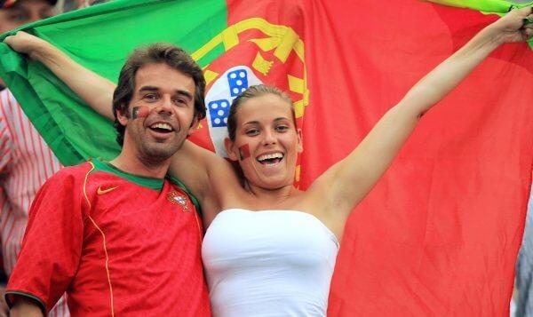 Португальские болельщики