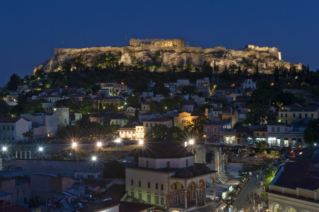 Афины вечером