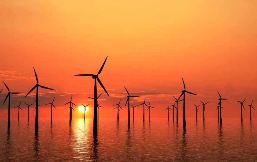 Фото: ветряная электростанция