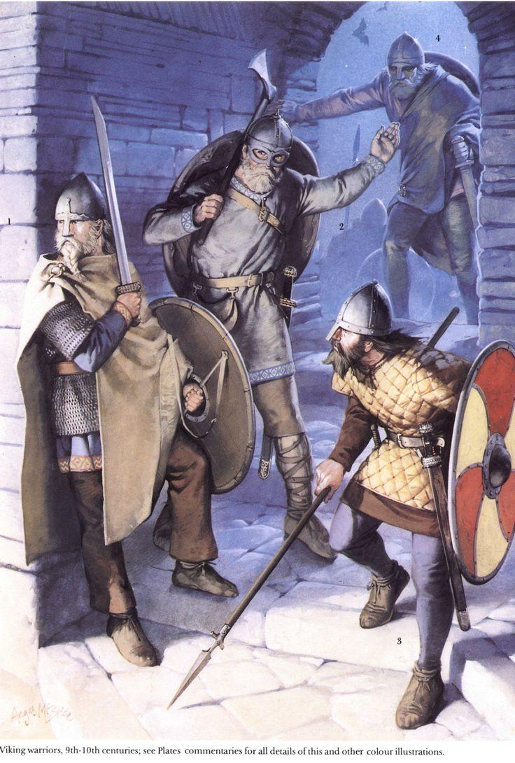 Викинги в военном обмундировании