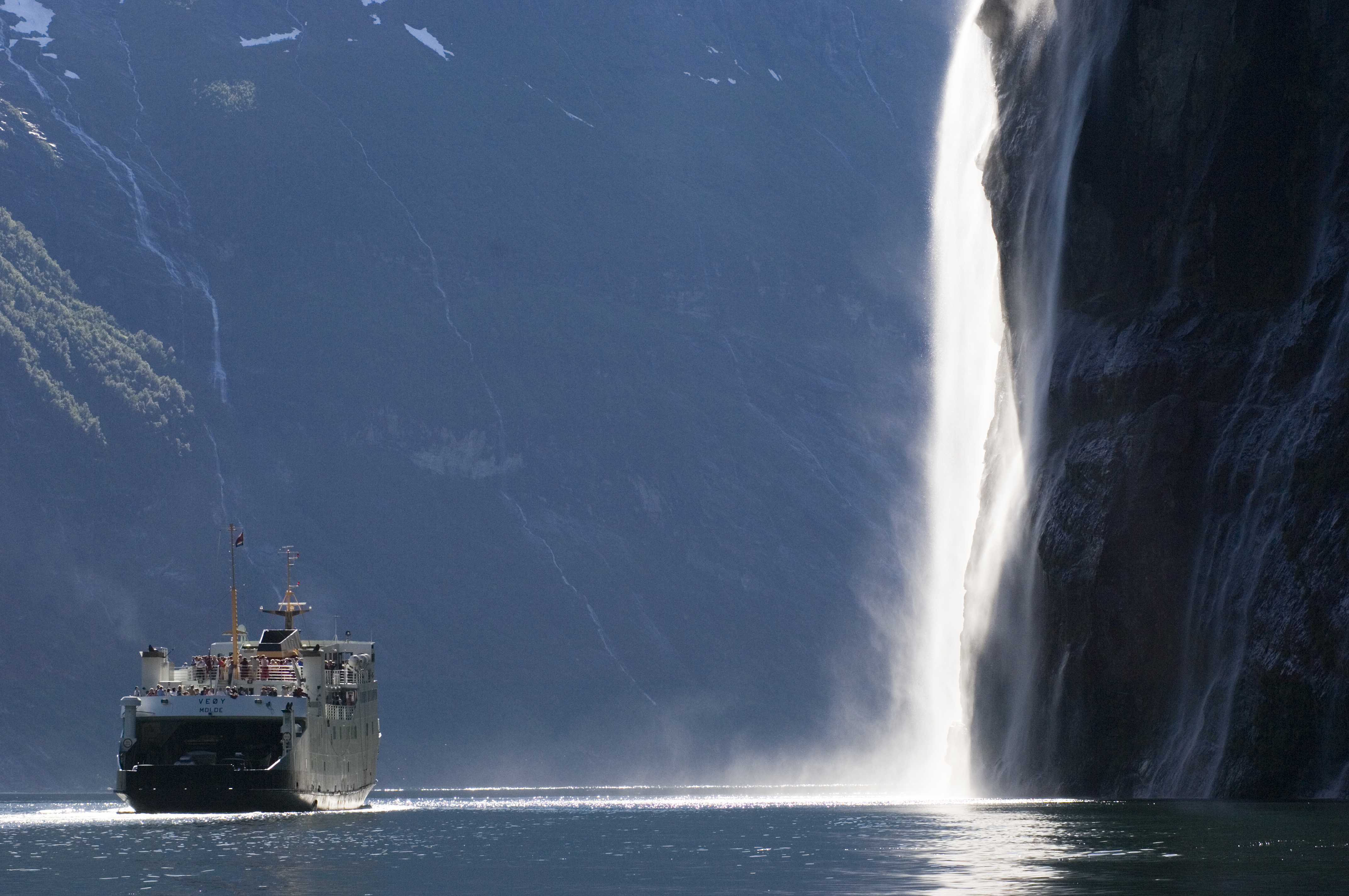Один из водопадов Норвегии