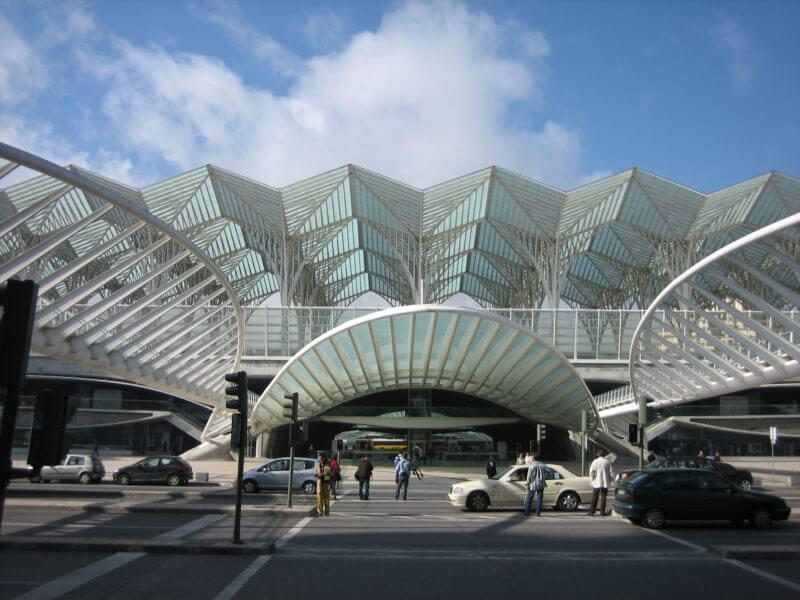 Ж/д станция Ориенте в Лиссабоне
