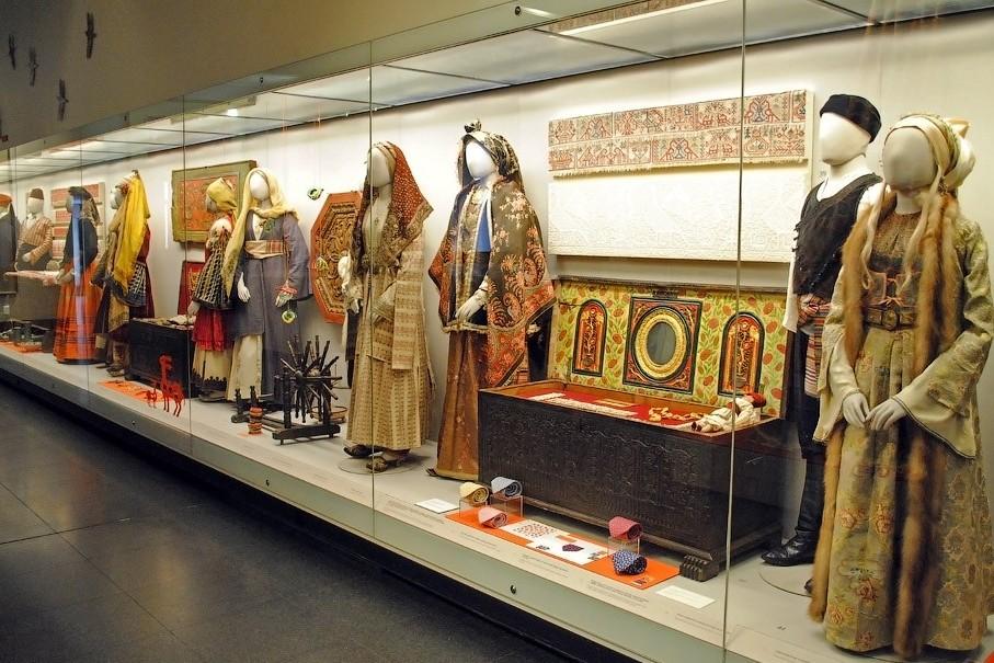 Фото: экспозия музея Бенаки в Афинах