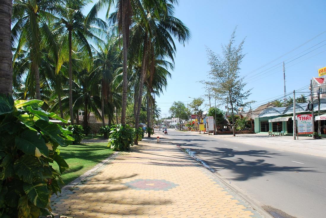 Главная улица поселка