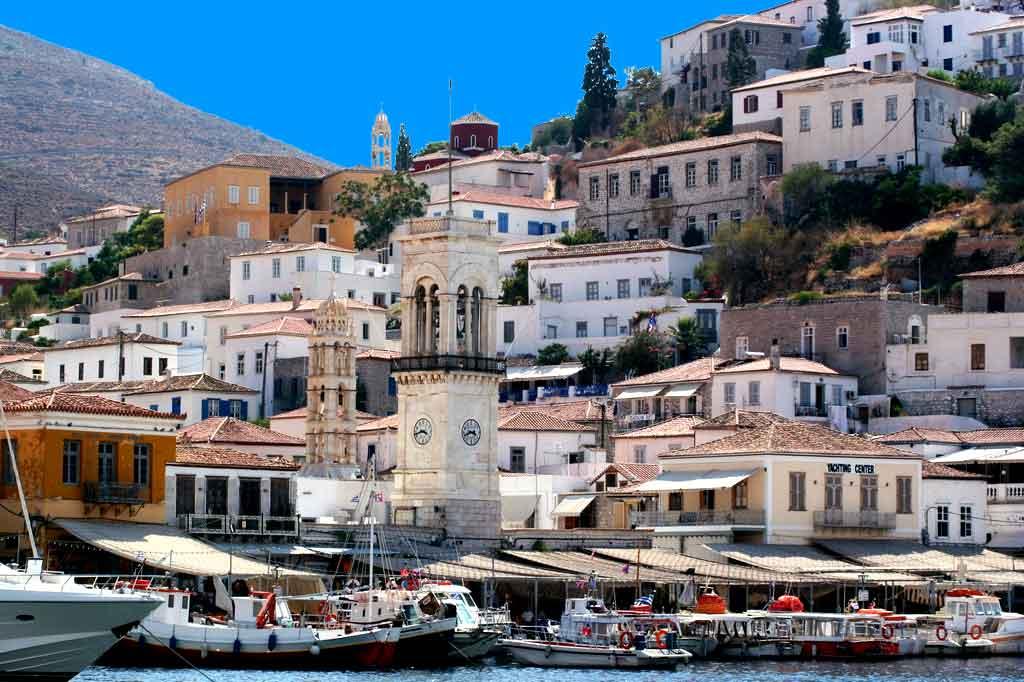 Фото греческого города