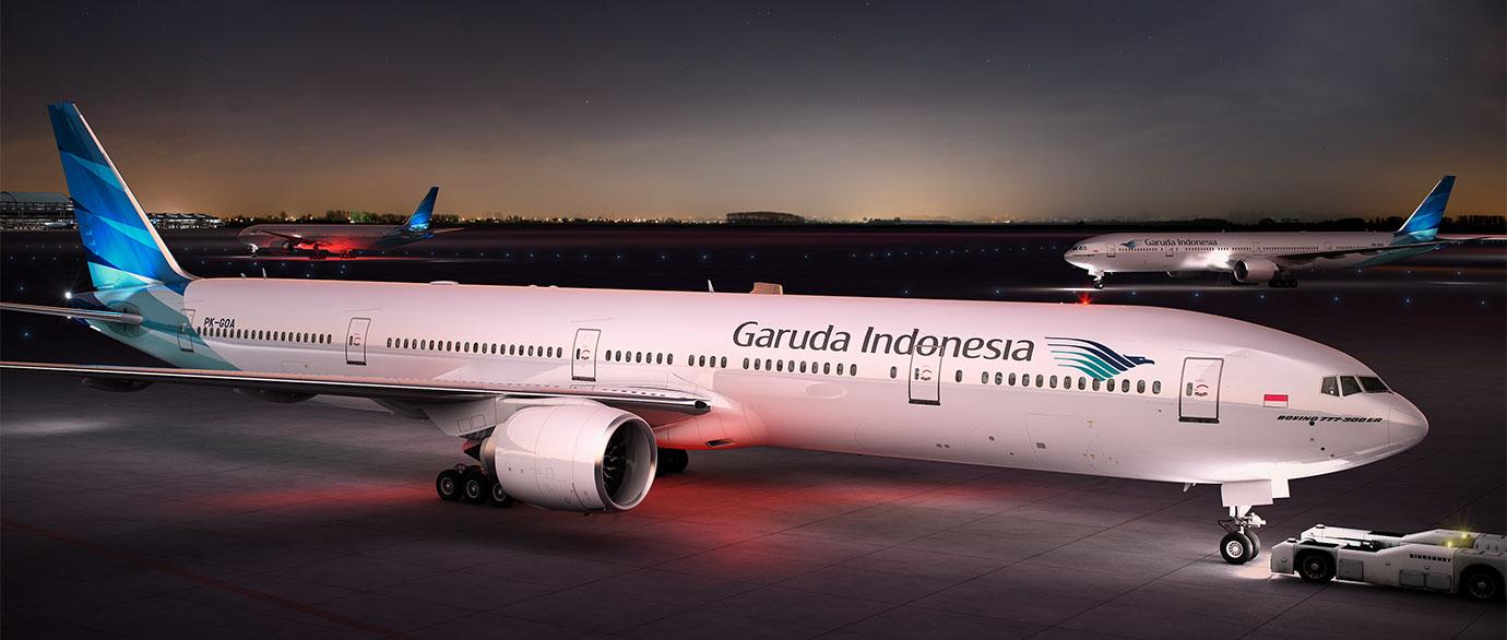 Самолет Garuda Indonesia