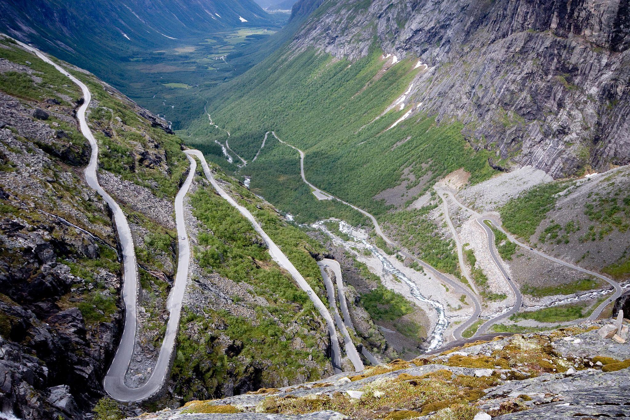 Дорога Троллей в Норвегии