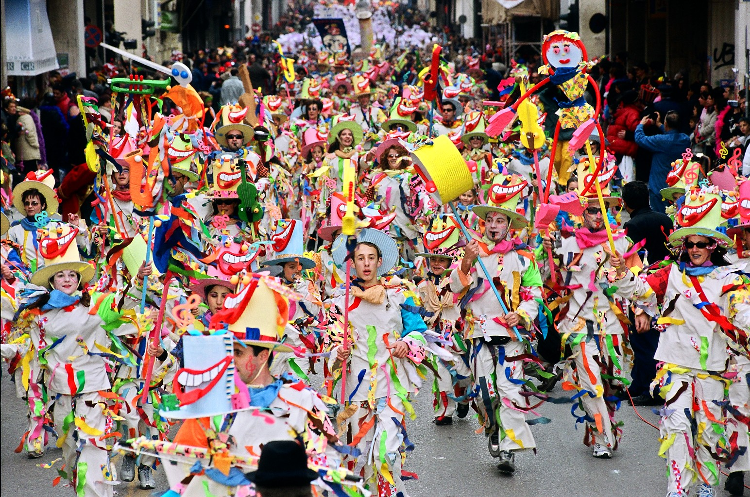 Фото: карнавал Апокриес