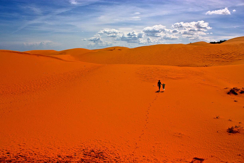 Фото: красные дюны