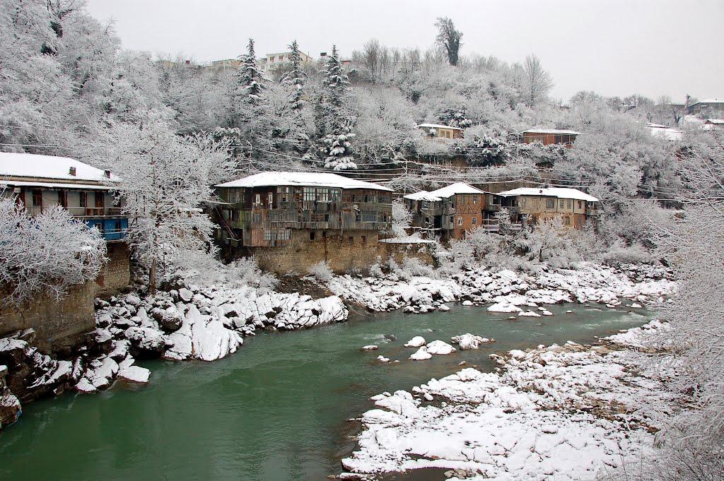Кутаиси в зимнюю пору