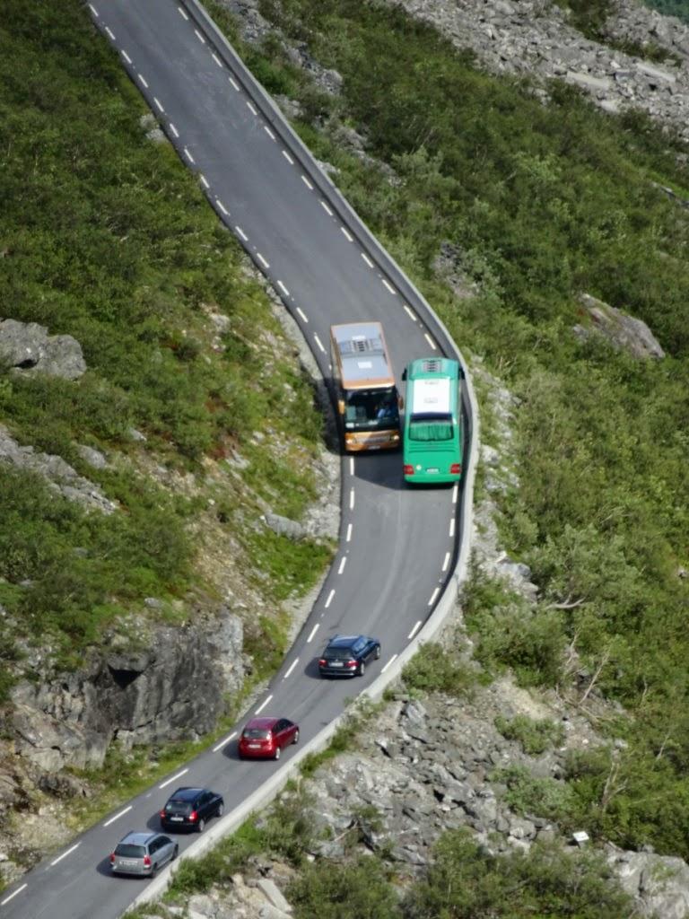 Ширина дороги на маршрутте Троллей
