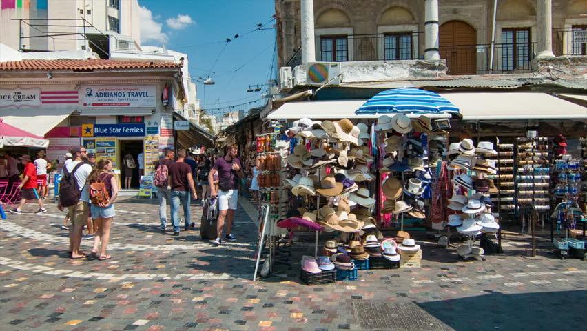Фото: площадь Монастираки
