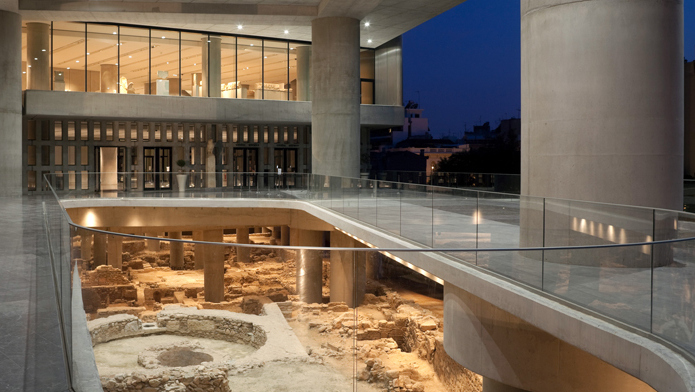 Этаэ музея Акрополя