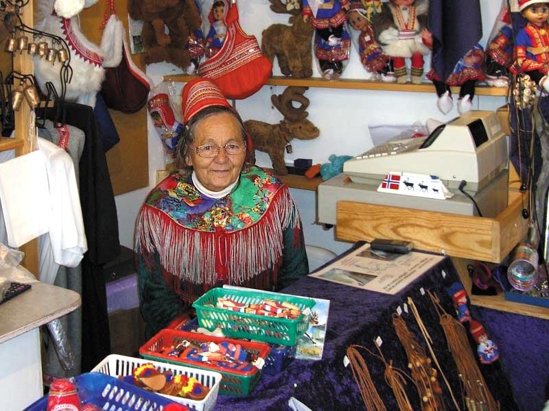 Фото коренной жительницы Норвегии