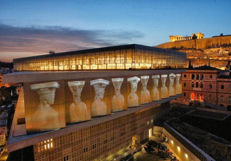 Достопримечательность Афин - музей Акрополя