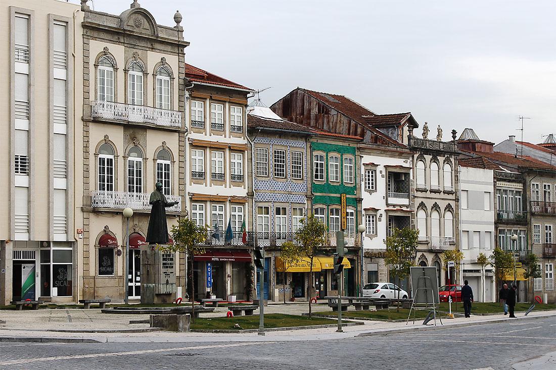 Улица города Брага
