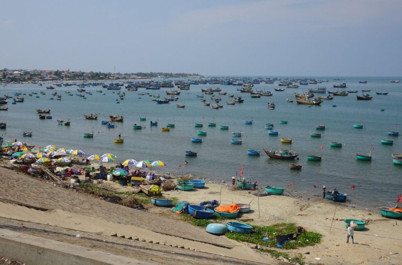 Фото: рыбацкая гавань