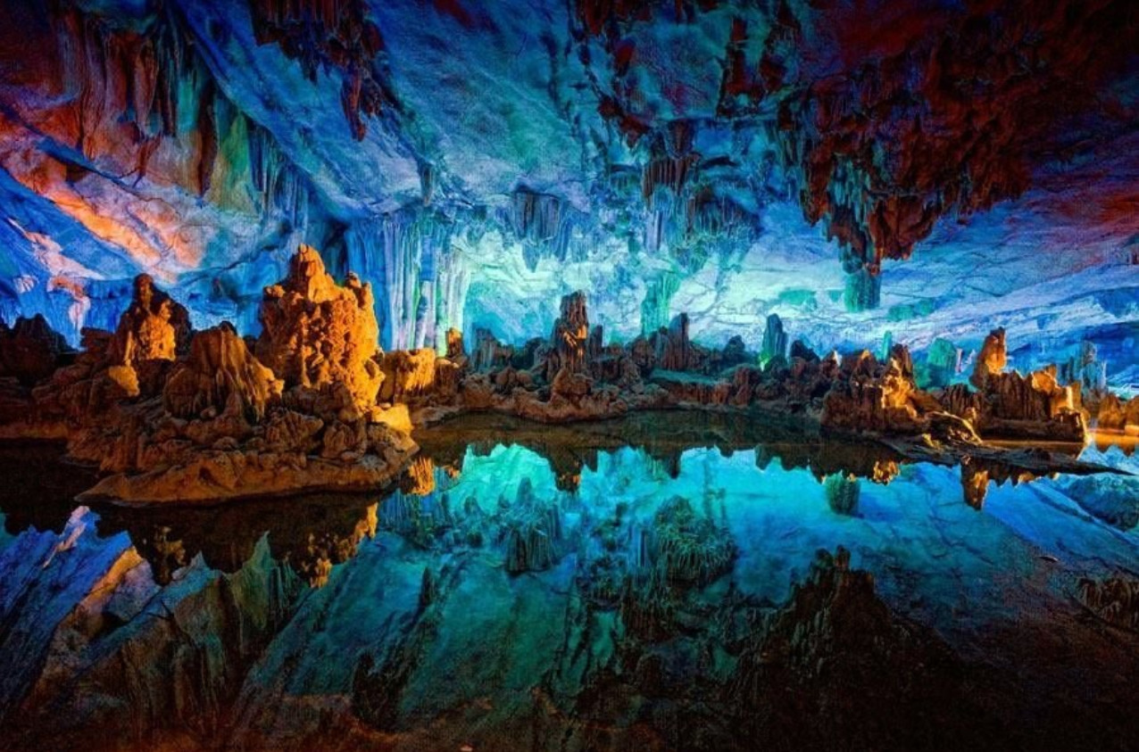 Сталактитовая пещера