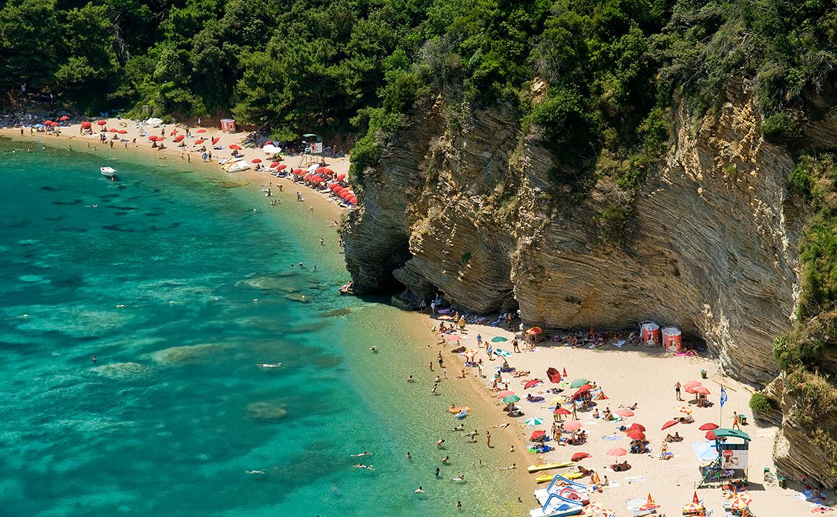 Лучший пляж Черногории - Могрен