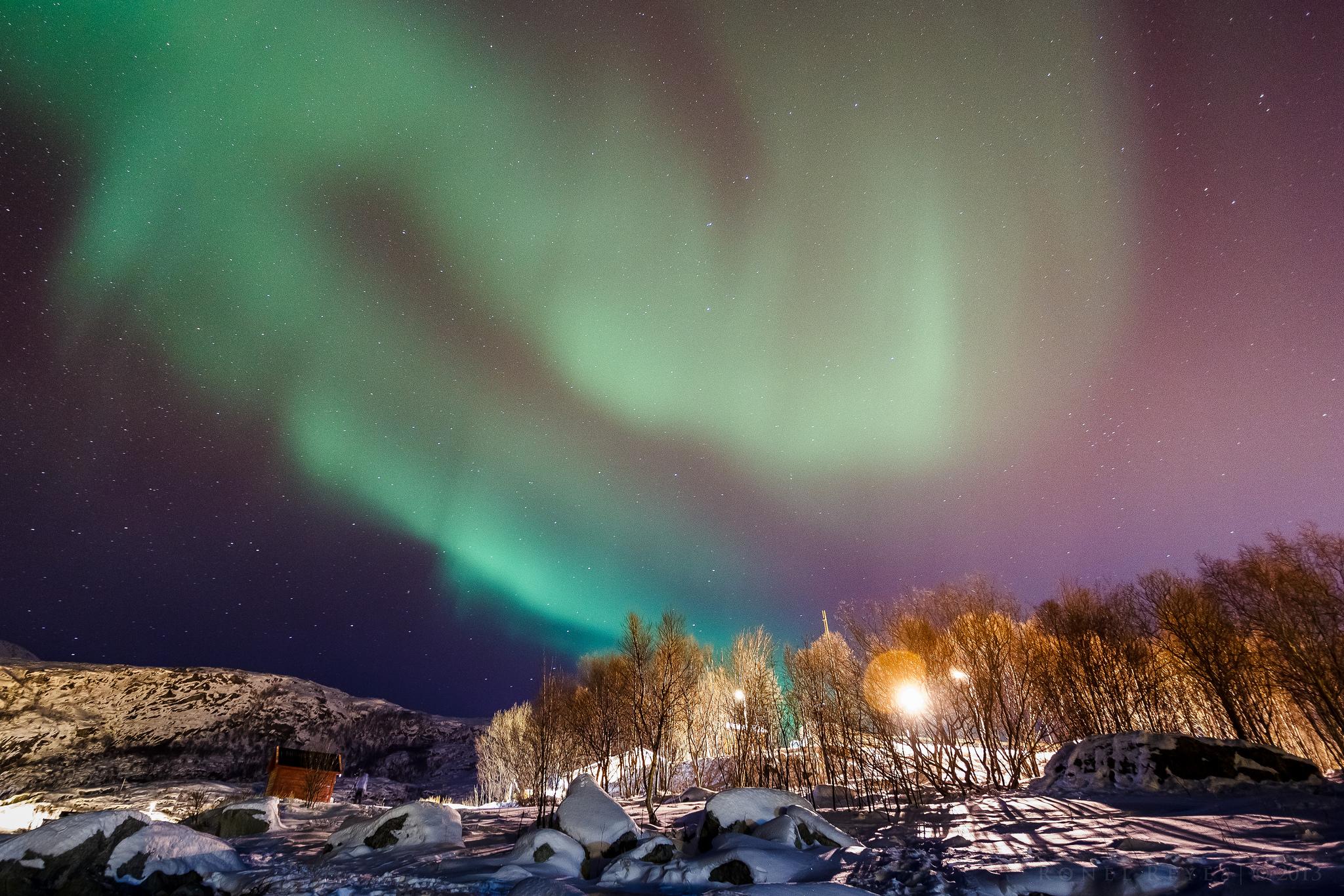 Фото: полярное сияние