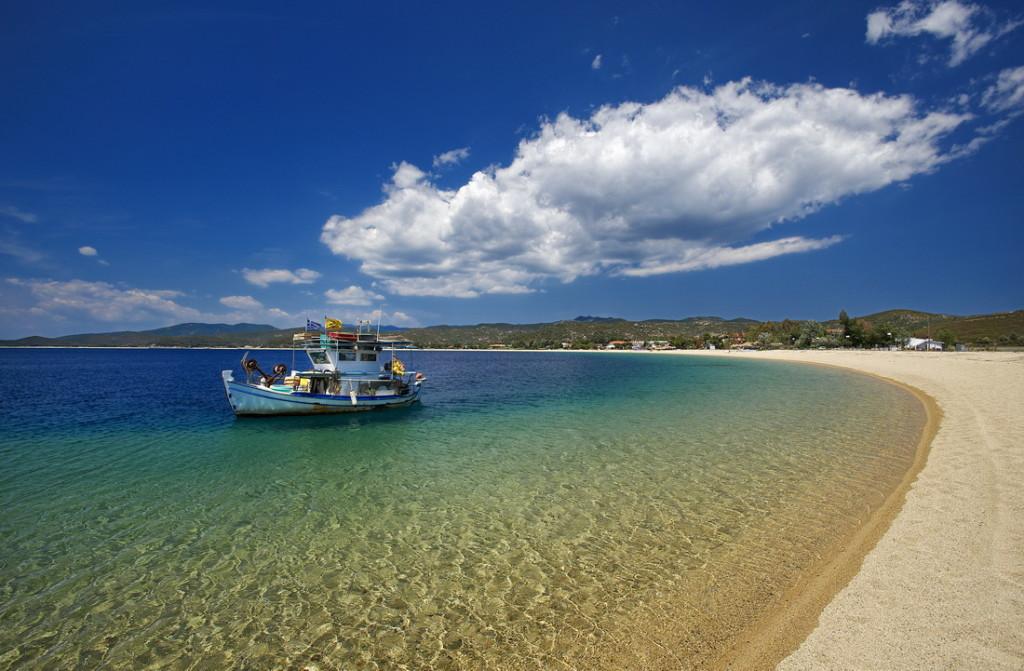 Один из пляжей Халкидики
