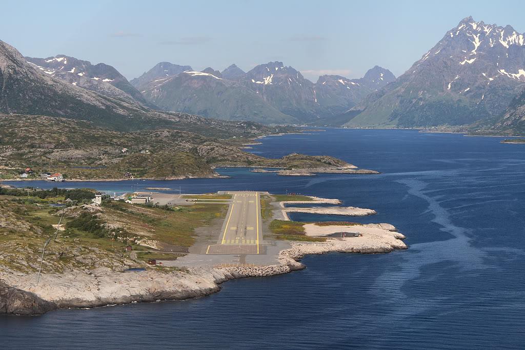 Взлетная полоса аэропорта Honningsvåg