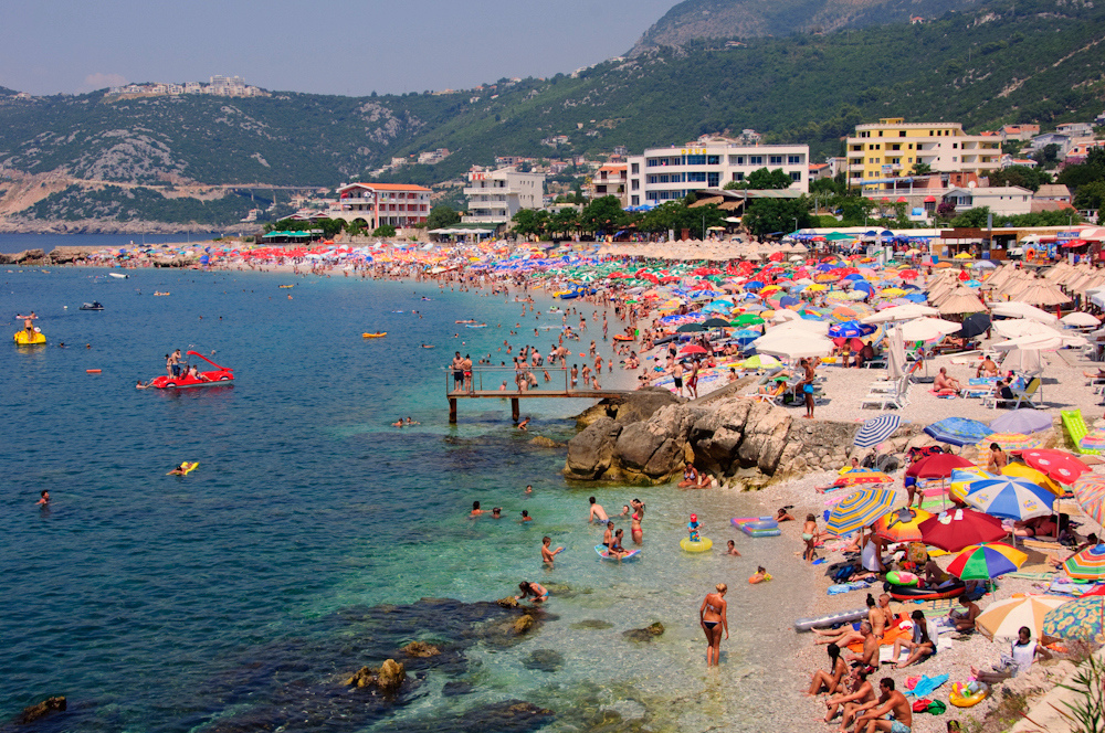 Главный городской пляж
