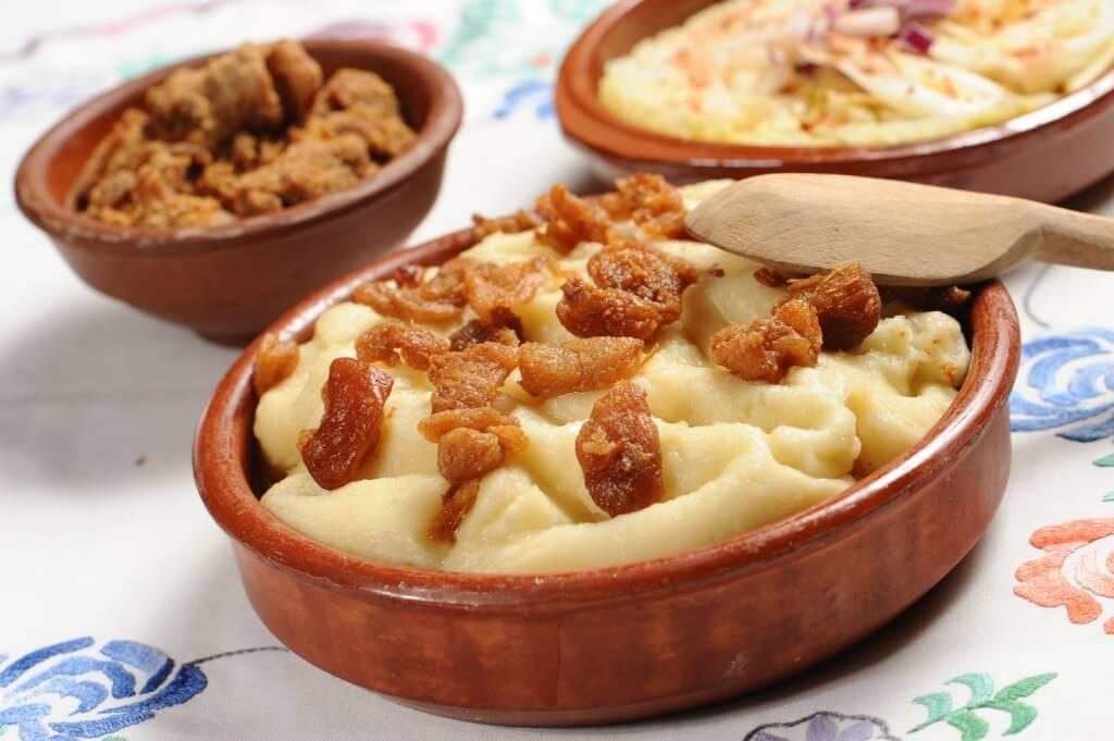 Цицвара - блюдо из кукурузной муки