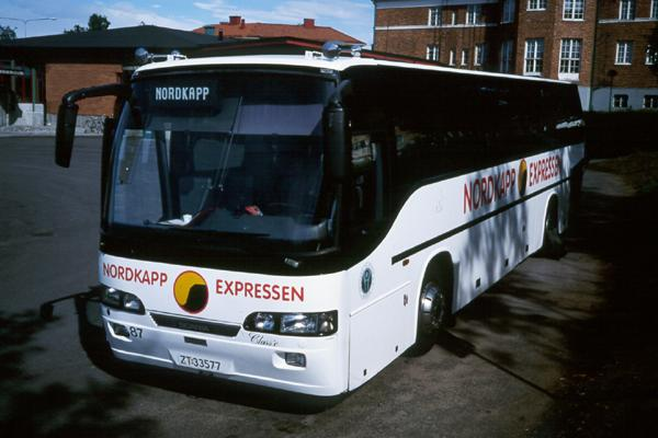 Автобус North Cape Express