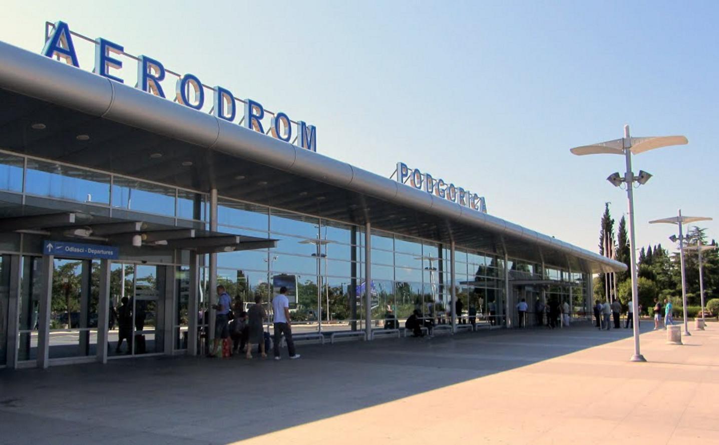 Фото: аэропорт столицы Черногории