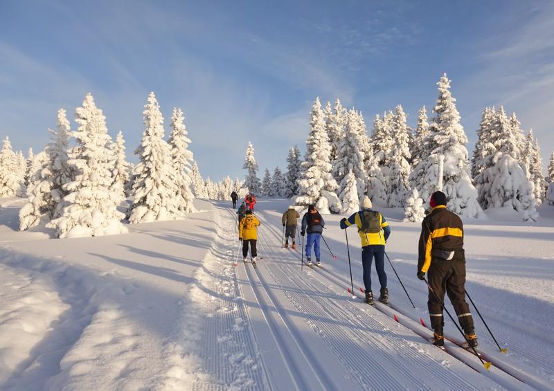 Катание на Лыжах в Лиллехаммере