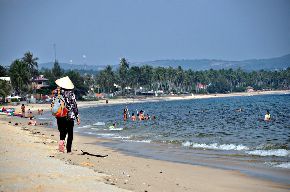 Фото: центральный пляж