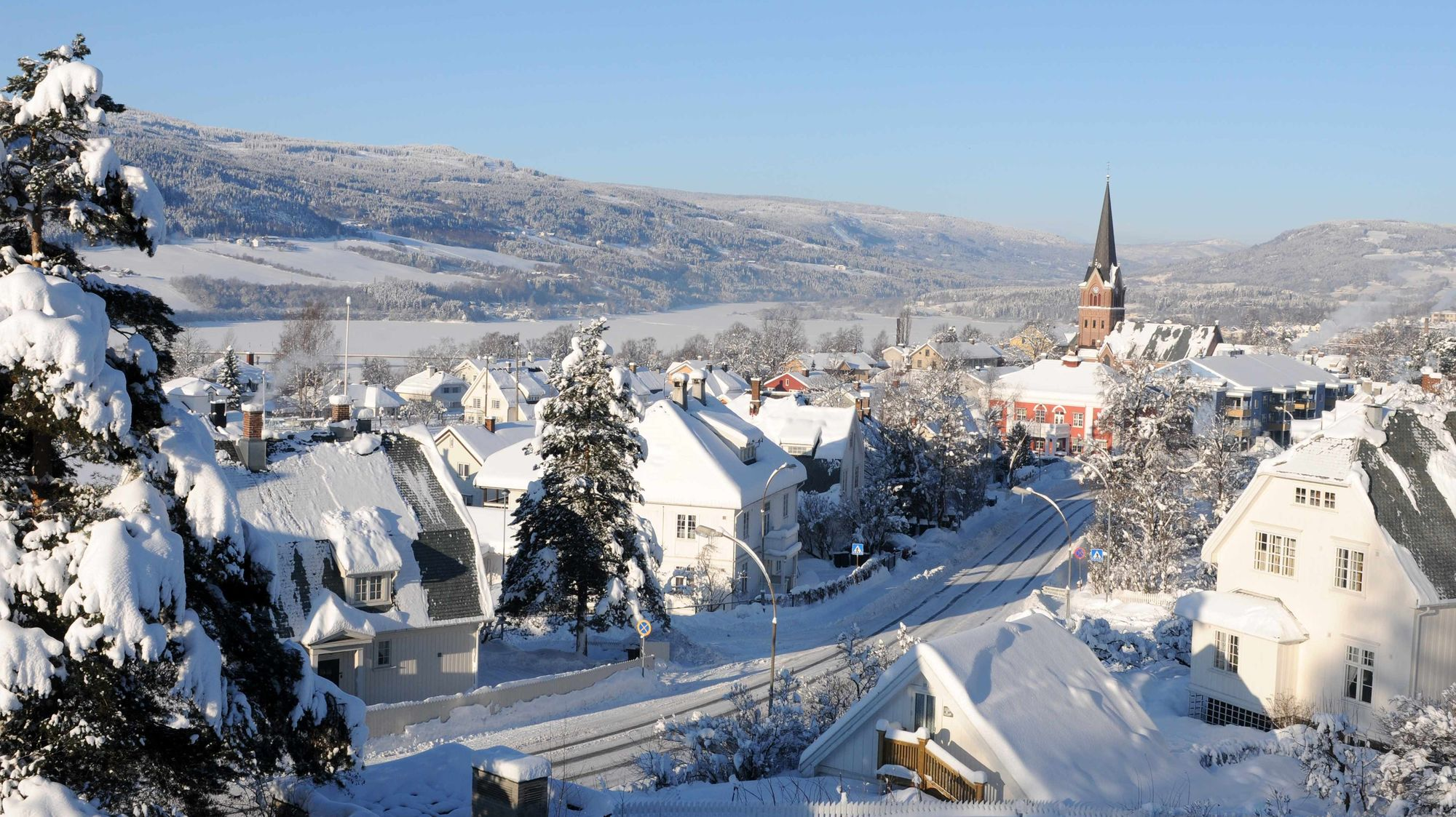 Фото: город Лиллехаммер в Норвегии